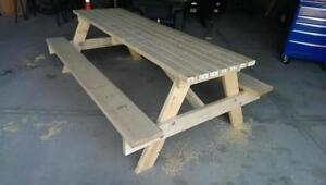 Brand New 8 Foot Picnic Tables