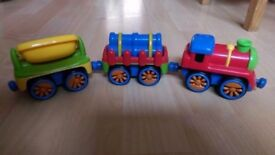 ELC magnetic trains