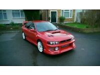 Subaru imprezza 2ltr turbo p/x swap bmw why!!!