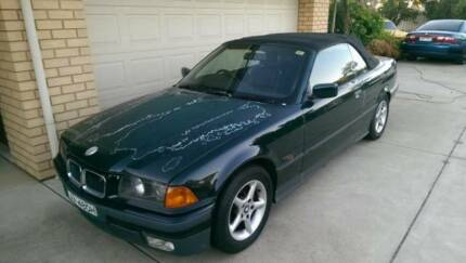 1996 BMW 325I CONVERTIBLE PROJECT CAR COMPLETE