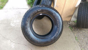 2 Goodyear Wranglers RT/S tires 265/70R16 Kitchener / Waterloo Kitchener Area image 2