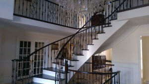 staircase / handrails renovation