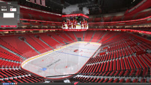 2 Detroit Red Wings Tickets (All Games) - Sec M34 Row E