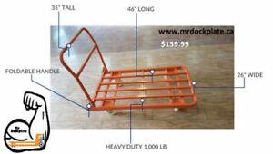 hand cart, dolly, mini pallet jack, lift table, telescopic ladde