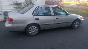 2002 Toyota Corolla CE Sedan *to be fixed or for parts*