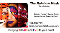 Face Painting with COLOR and FUN!