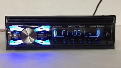 Radio For Ls Cab Tractor Amfmsdusbauxbt Soundstream With Plugs And Hardware