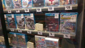 Wanted Wii u Games items
