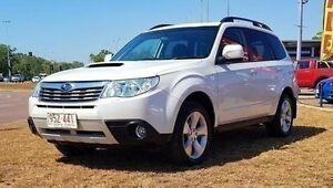 2009 Subaru Forester S3 MY10 XT AWD Premium White 4 Speed Sports Automatic Wagon Berrimah Darwin City Preview