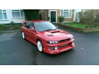 P/x swap somthing less sporty (bmw,audi) lovley subaru imprezza turbo