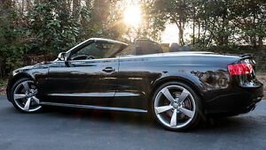 2014 Audi  RS5 Convertible black on black Excellent cond.