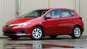 2016 Toyota Corolla ZRE182R MY15 Ascent Red Mica 7 Speed CVT Auto Sequential Hatchback Lismore Lismore Area Preview