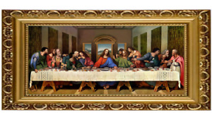 Last Supper Picture with Frame