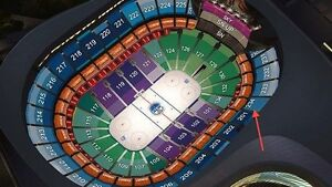Edmonton Oilers tickets Section 234 Row 8