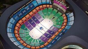 Oilers Vs Ducks - Saturday December 3 - 8 Pm - Sec 216 Row 1 Attack Twice - $175 per ticket, $350 for the pair OBO
