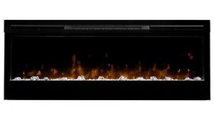 """Electric fireplace 50"""" linear"""