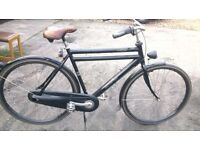 Rare Mens 3 Speed Dutch Bike Size 22IN/58CM in Perfect Working Condition