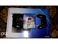 BRAND BRAND NEW PS4 WITH FIFA16 & 2 CONTROLLERS