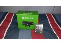 Xbox One with all wires, 1 Controller+Black ops 3 (Boxed)