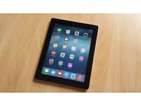 APPLE IPAD 3 3G WIFI IN BLACK AND WHITE COMES WITH CHARGER & 3 MONTHS WARRANTY