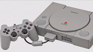 Playstation One, Controller, Memory Card, moded In original box