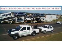 WANTED DEAD OR ALIVE CARS VANS CARAVANS CAMPERS CASH ! CASH ! CASH ! CASH !