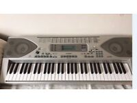 CASIO CTK-900 Keyboard. Hardly used with stand and books