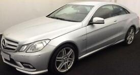MERCEDES-BENZ E250 E350 CDI AMG LINE NIGHT PREMIUM COUPE FROM £41 PER WEEK!