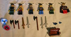 Lego vikings sets, piece or figures