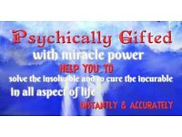 Psychic  Mystically  gifted combine with miracle power