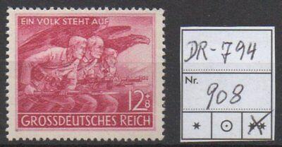 Deutsches Reich, Michel Nr. 908 (Volkssturm) tadellos postfrisch.