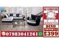 SOFA LUXURY **DINO SOFA** Cheapestt Price also foot stool swivel chair or 3+2/Corner sofa 18945