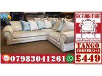 *tango SOFA*cheapest price LUXURY sofa also foot stool swivel chair or 3+2/Corner sofa 12492