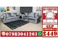 LUXURY CRUSHVELVET *GLP SOFA* 3+2/Corner sofa SEATER 14128