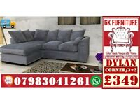 SOFA LUXURY SOFA *DYLAN*Cheapestt Price also foot stool swivel chair or 3+2/Corner sofa 40234