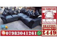 *SHANN0N SOFA* LUXURY SOFA Cheapestt Price also foot stool swivel chair or 3+2/Corner sofa 928