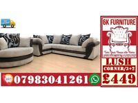 SOFA LUXURY *LUSH SOFA* Cheapestt Price also foot stool swivel chair or 3+2/Corner sofa 928