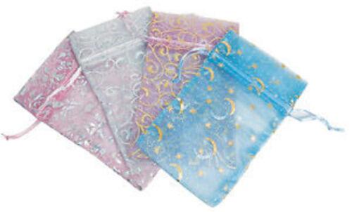 36 Assorted Drawstring Beautiful Fancy Silk Pouch Bags #2 #3 #4