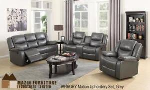 LEATHER ROCKER RECLINER (ID-187)