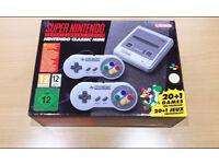 Super Nintendo Classic Mini Brand New/sealed SNES