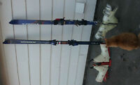 Two Pair of Ski's and 2 Pair of Boots