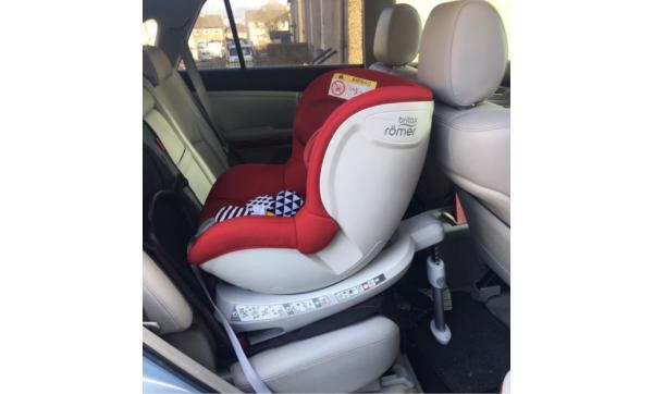 Britax Dualfix 360 ISOFIX REAR / FORWARD Facing 2 WAY FIX Car Seat