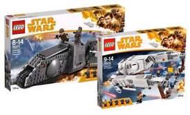 Lego star wars bnib sets 75215 75217 75219 new from solo movie bundel