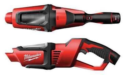 MILWAUKEE 0850-20 M12 Cordless Vacuum, 9A, 33 cfm, 12V, 20.2 oz. for sale  USA