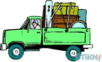 Moving service/ junk removal.
