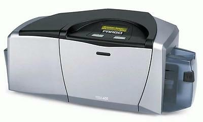 Fargo DTC400e Double-Sided ID Card Printer with 6-month Warranty!