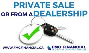 Buying a Vehicle Privately? We have your financing options!!