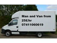 24/7 Man & Van Hire,House Removal services Furniture Waste Collection,Waste/Rubbish Movers,piano
