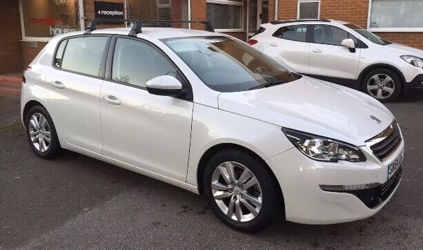 Genuine Peugeot 308 Roof Bars Max Load 80kg In Anlaby