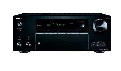 Onkyo 1260W 7.2-Ch Network/Ready 4K Ultra HD  3D A/V Home Theather TX-NR757